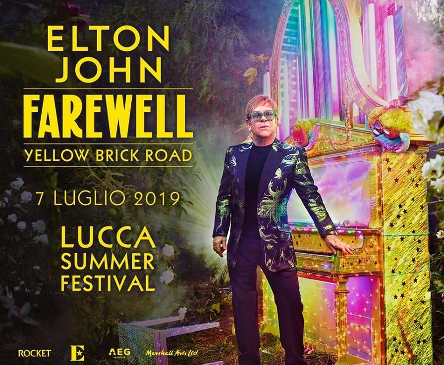 Elton John-Lucca Summer Festival 2019